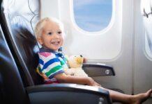 Kids on Airplane