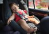 toddler in a car for a comfortable journey